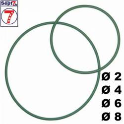Courroie ronde Set 4 X 2m