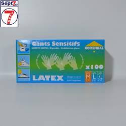 Gants LATEX taille M boîte...