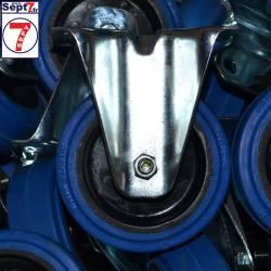 Roulette Bleue Fixe