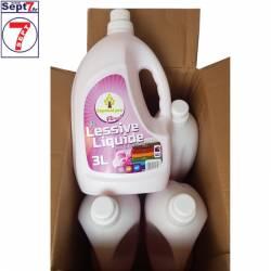 4X3L Lessive liquide FLORAL