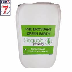 Pré-brossant Green earth